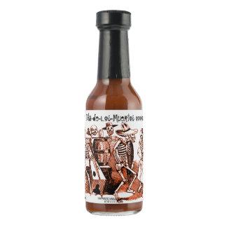 Hostess Gift Dia de Los Muertos Party Hot Sauce