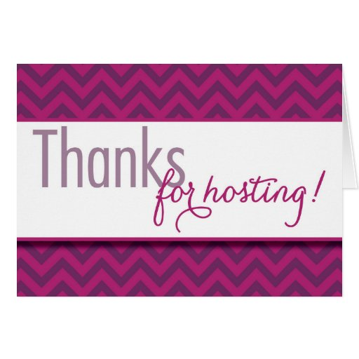 Hostess thank you notes zazzle for Best thank you gifts for hostess