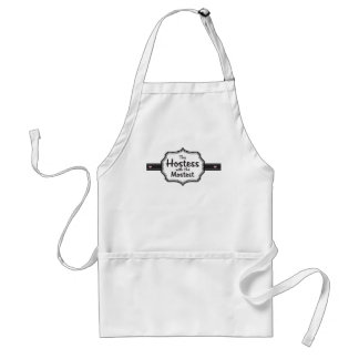 Hostess with the Mostest Adult Apron