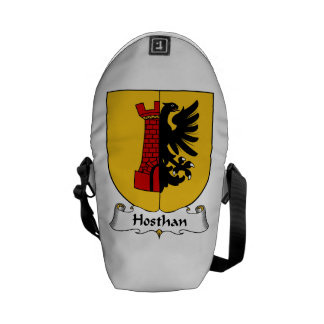 Hosthan Family Crest Courier Bag
