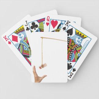 Hostigamiento con el dinero tailandés cartas de juego