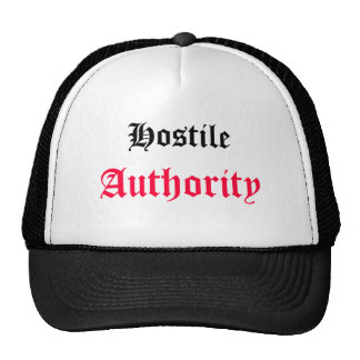 Hostile, Authority Trucker Hat