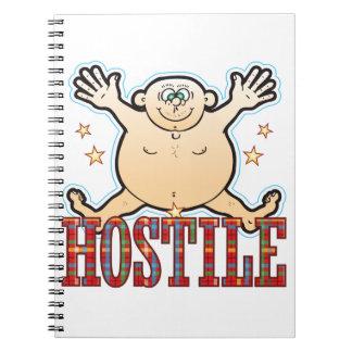 Hostile Fat Man Notebook