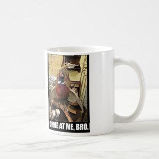 Hostile mug.  Perfect for dad.  Or serial killers. Coffee Mug