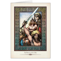 """""""Hosting of the Sidhe"""" Greeting Card"""