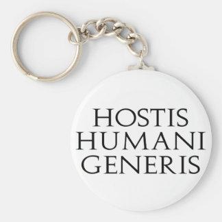 Hostis Humani Generis Keychain
