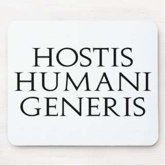 Hostis Humani Generis Mousepad Tapete De Ratón