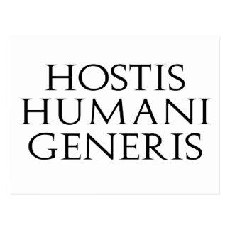 Hostis Humani Generis Postcard