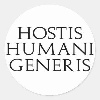 Hostis Humani Generis Stickers