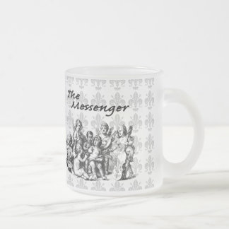 Hosts of Angels V2 Frosted Glass Coffee Mug