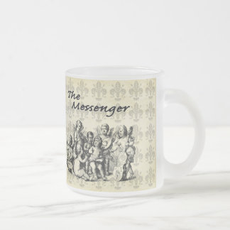Hosts of Angels V3 10 Oz Frosted Glass Coffee Mug