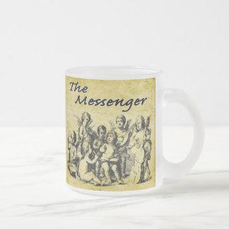 Hosts of Angels V4 10 Oz Frosted Glass Coffee Mug