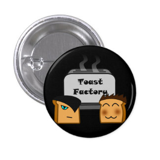 Hosts Toastie Black Button