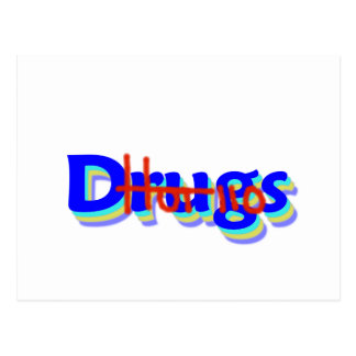 Hot 110 Drugs, Say No To Drugs! Postcard