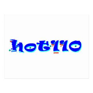 Hot 110 postcard