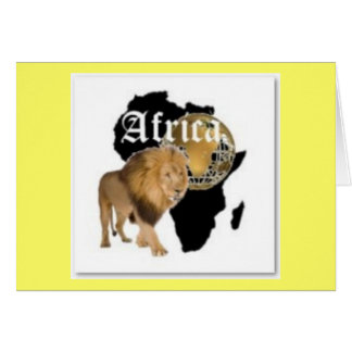 "Hot  ""Africa"" Flag T-shirt,  And Etc ( Greeting Card"