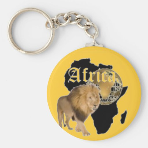 """Hot  """"Africa"""" Flag T-shirt,  And Etc ( Basic Round Button Keychain"""