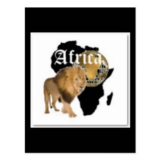 "Hot  ""Africa"" Flag T-shirt,  And Etc ( Postcard"