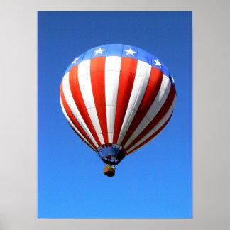 Hot Air Ballon 1 Poster
