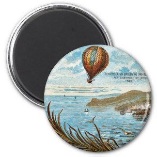 Hot Air Ballon Artwork 2 Inch Round Magnet