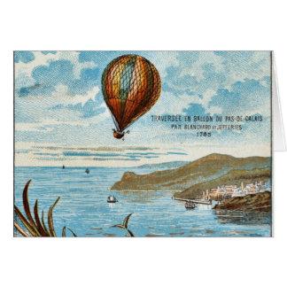 Hot Air Ballon Artwork Card