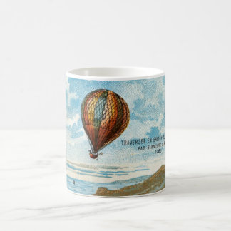 Hot Air Ballon Artwork Coffee Mug