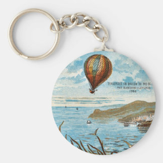 Hot Air Ballon Artwork Keychain