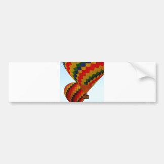 hot air ballon bumper sticker