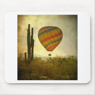 Hot Air Ballon Flight Over the Southwest Desert Mouse Pad