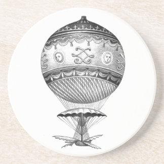 Hot Air Ballon Steampunk Style Drink Coaster