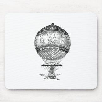 Hot Air Ballon Steampunk Style Mouse Pad