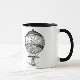 Hot Air Ballon Steampunk Style Mug