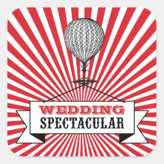 Hot Air Ballon Wedding Spectacular Stickers.