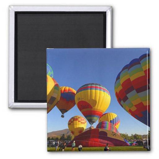 Hot Air Ballons Fridge Magnets