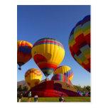 Hot Air Ballons Postcard