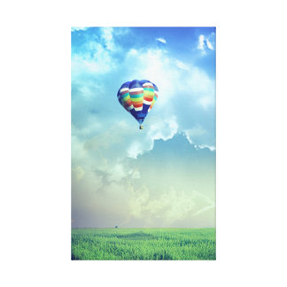 Hot Air Balloon 13  Stretched Canvas Print