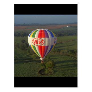 Hot air balloon , 1983_Classic Aviation Postcard