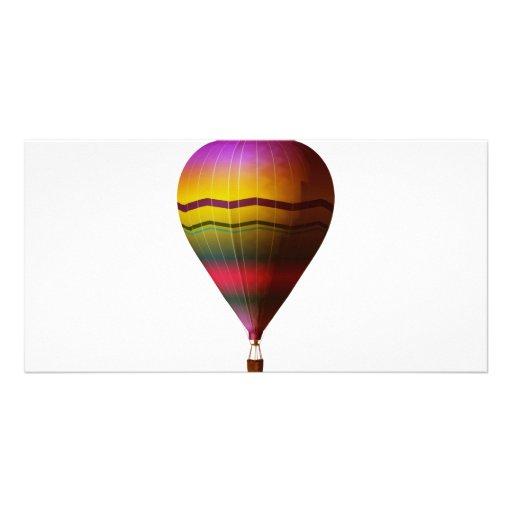 Hot Air Balloon 3 Photo Greeting Card