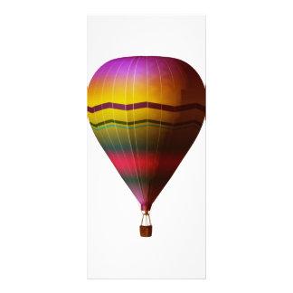 Hot Air Balloon 3 Full Color Rack Card