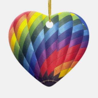 Hot Air Balloon (4) Ceramic Ornament
