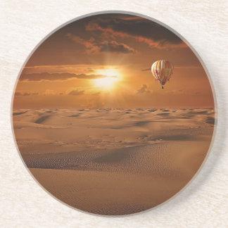 hot-air-balloon-797 sandstone coaster
