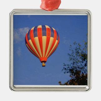 Hot Air Balloon (7) Metal Ornament