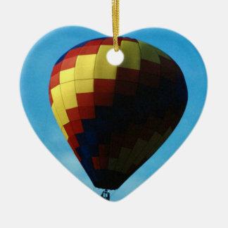 Hot Air Balloon (8) Ceramic Ornament