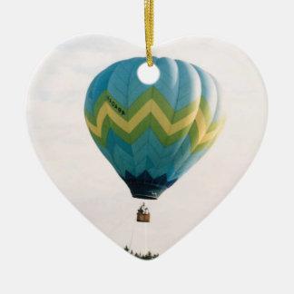 Hot Air Balloon (9) Ceramic Ornament