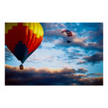 Hot Air Balloon and Powered Parachute Posters