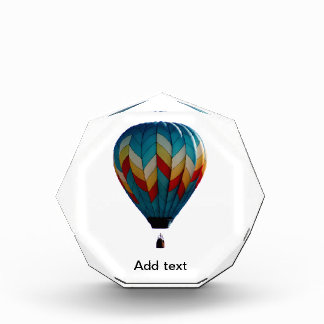 Hot air balloon award