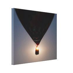 Hot Air Balloon, Balloon Fest, Olathe, Kansas, Sun Stretched Canvas Prints