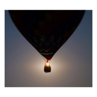 Hot Air Balloon, Balloon Fest, Olathe, Kansas, Sun Posters