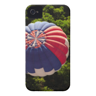 Hot Air Balloon Ballooning Above The Trees iPhone 4 Case