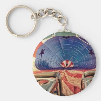 Hot Air Balloon Ballooning Burners Keychain
